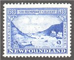 Newfoundland Scott 219 Mint F